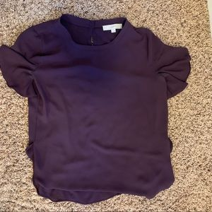 Loft Purple Blouse